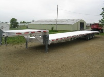 Gooseneck Heavy Equipment Flatbed Trailers - GNF 41A