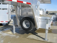 Gooseneck Heavy Equipment Flatbed Trailers - GNF 60A