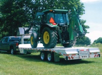 Gooseneck Heavy Equipment Flatbed Trailers - GNF 49