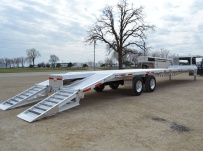 Gooseneck Heavy Equipment Flatbed Trailers - GNF 93A