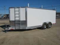 Bumper Pull Enclosed Cargo Trailers - BPDF 45