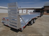 Bumper Pull Heavy Equipment Flatbed Trailers - BPF 34