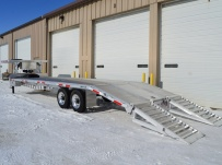 Gooseneck Heavy Equipment Flatbed Trailers - GNF 86B