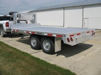 Gooseneck Heavy Equipment Flatbed Trailers - GNF 66