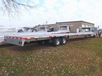 Gooseneck Heavy Equipment Flatbed Trailers - GNF 80