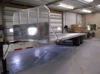Bumper Pull Heavy Equipment Flatbed Trailers - BPF 25