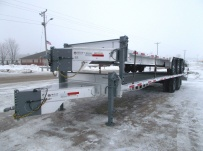Bumper Pull Heavy Equipment Flatbed Trailers - BPF 36A