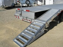 Gooseneck Heavy Equipment Flatbed Trailers - GNF 57B