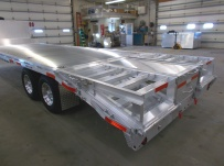 Gooseneck Heavy Equipment Flatbed Trailers - GNF 102B