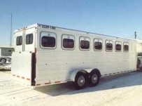 Gooseneck Horse Trailers - GNEH 12