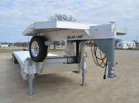 Gooseneck Heavy Equipment Flatbed Trailers - GNF 93B