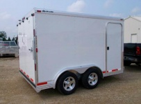 Bumper Pull Automotive All Aluminum Enclosed Trailers - BPA 73