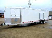 Enclosed Snowmobile/Motorcycle Toy Haulers - BPA 36E
