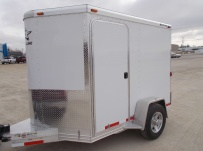 Bumper Pull Enclosed Cargo Trailers - BPDF 73
