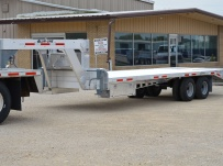 Gooseneck Heavy Equipment Flatbed Trailers - GNF 101B