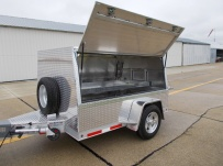 Bumper Pull Enclosed Cargo Trailers - BPDF 75