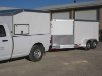 Bumper Pull Enclosed Cargo Trailers - BPDF 79A