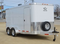 Bumper Pull Enclosed Cargo Trailers - BPDF 84A