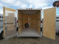 Bumper Pull Enclosed Cargo Trailers - BPDF 81C