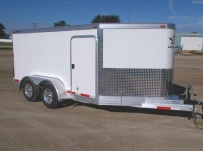 Bumper Pull Enclosed Cargo Trailers - BPDF 79D
