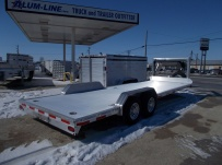 Gooseneck Low Profile Heavy Equipment Flatbed Trailers - GNLPF 42