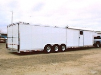 Gooseneck Automotive All Aluminum Enclosed Trailers - GNA 2