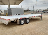 Bumper Pull Heavy Equipment Flatbed Trailers - BPF 33