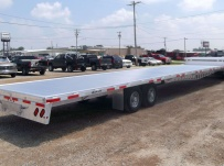 Gooseneck Heavy Equipment Flatbed Trailers - GNF 24A