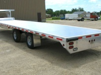 Gooseneck Heavy Equipment Flatbed Trailers - GNF 44