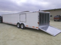 Gooseneck Automotive All Aluminum Enclosed Trailers - GNA 36A