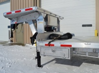 Gooseneck Heavy Equipment Flatbed Trailers - GNF 86D