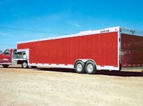 Gooseneck Automotive All Aluminum Enclosed Trailers - GNA 4
