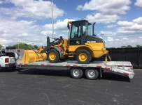 Gooseneck Heavy Equipment Flatbed Trailers - GNF 102D