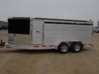 Showmaster Full Height Small Livestock Trailers - BPSM 29