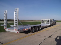 Gooseneck Low Profile Heavy Equipment Flatbed Trailers - GNLPF 35B