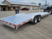 Bumper Pull Open Automotive Aluminum Trailers - BPOC 28B