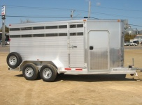 Showmaster Full Height Small Livestock Trailers - BPSM 18