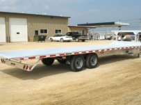 Gooseneck Heavy Equipment Flatbed Trailers - GNF 26A - 30'