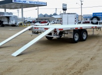 Bumper Pull Heavy Equipment Flatbed Trailers - BPF 37