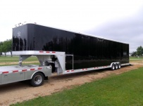 Gooseneck Automotive All Aluminum Enclosed Trailers - GNA 31B
