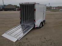 Bumper Pull Enclosed Cargo Trailers - BPDF 77