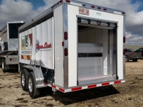 Bumper Pull Enclosed Cargo Trailers - BPDF 85C