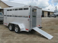 Commercial Bumper Pull Livestock Trailers - BPL 23