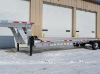 Gooseneck Heavy Equipment Flatbed Trailers - GNF 94A