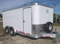 Bumper Pull Enclosed Cargo Trailers - BPDF 80
