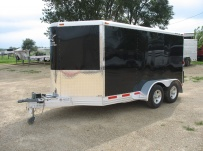 Bumper Pull Automotive All Aluminum Enclosed Trailers - BPA 43B