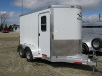 Bumper Pull Enclosed Cargo Trailers - BPDF 57B