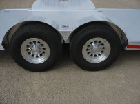 Bumper Pull Open Automotive Aluminum Trailers - BPOC 20D