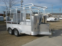 Open Utility Heavy Duty Utility Trailers - BPU 35