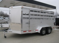 Showmaster Full Height Small Livestock Trailers - BPSM 25